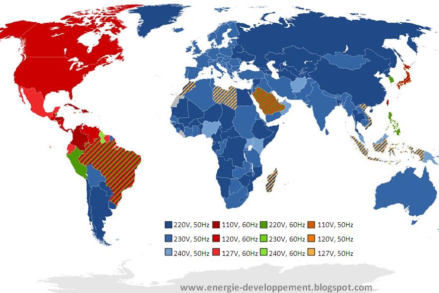 L'électricité dans le monde